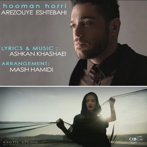 آهنگ جدید آرزوی اشتباهی از هومن حری