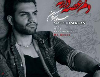 آهنگ جدید مسعود سرکان به نام دلم غصه دارته