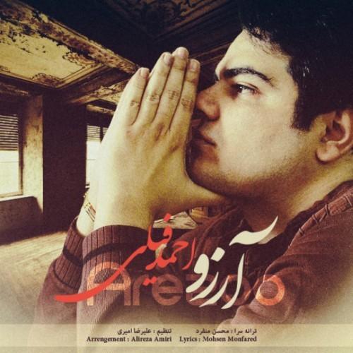 دانلود آهنگ جدید احمد فیلی به نام آرزو