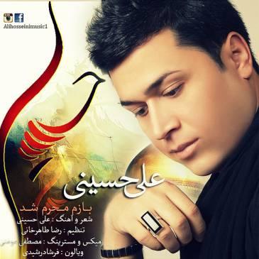 دانلود آهنگ جدید علی حسینی به نام بازم محرم شد