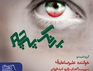 دانلود آهنگ جدید علیرضا عابدی به نام به رنگ پرچم