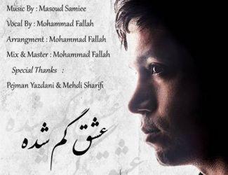 دانلود آهنگ جدید محمد فلاح به نام عشق گم شده
