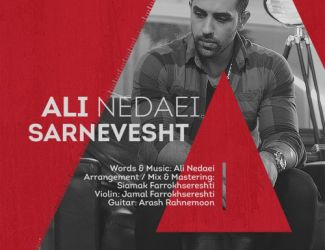 دانلود آهنگ جدید علی ندایی به نام سرنوشت