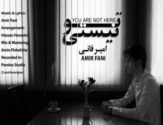 دانلود ویدیو جدید امیر فانی بنام تو نیستی