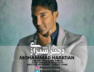 دانلود آهنگ جدید محمد حراتیان بنام دختر شیرازی
