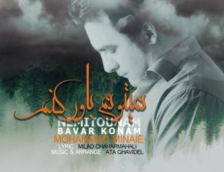 دانلود آهنگ جدید محمد مینایی بنام نمیتونم باور کنم