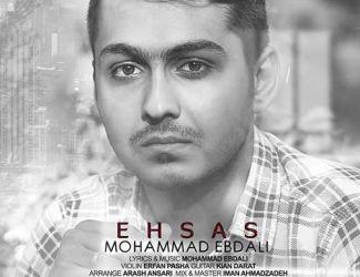 دانلود آهنگ جدید محمد عبدالی بنام احساس