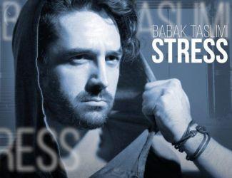 دانلود آهنگ جدید بابک تسلیمی بنام استرس