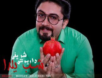 دانلود آهنگ جدید داریوش شریفی به نام شب یلدا