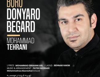 دانلود آهنگ محمد تهرانی به نام برو دنیا رو بگرد
