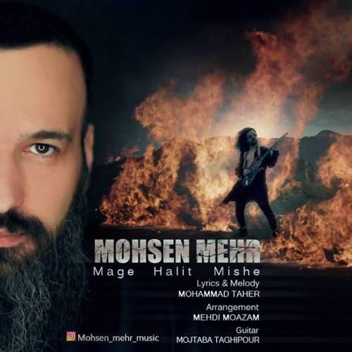 دانلود آهنگ محسن مهر به نام مگه حالیت میشه