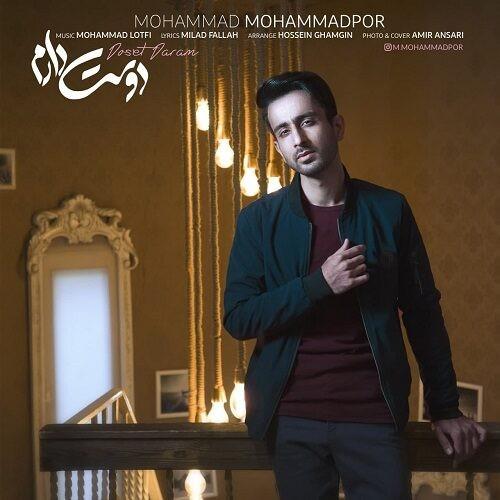 دانلود آهنگ جدید محمد محمدپور به نام دوست دارم