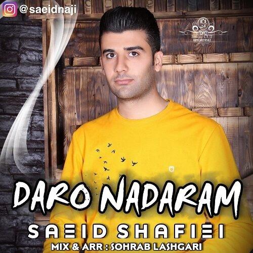 دانلود آهنگ جدید سعید شفیعی به نام دار و ندارم