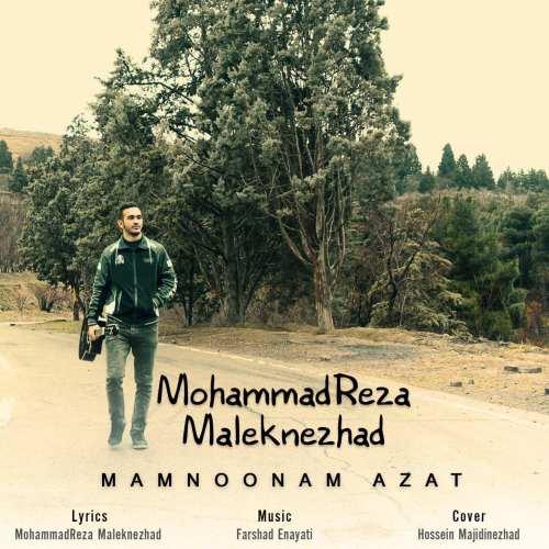 دانلود آهنگ محمدرضا ملک نژاد بنام ممنونم ازت